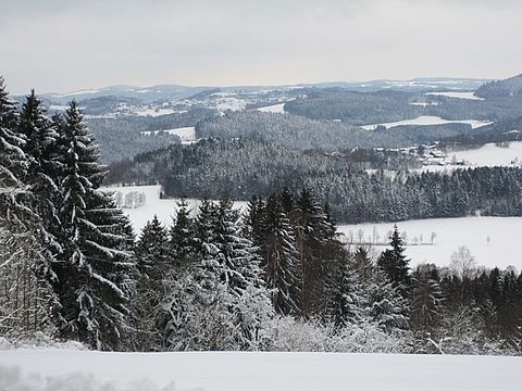 Winterlandschaft in Rattenberg