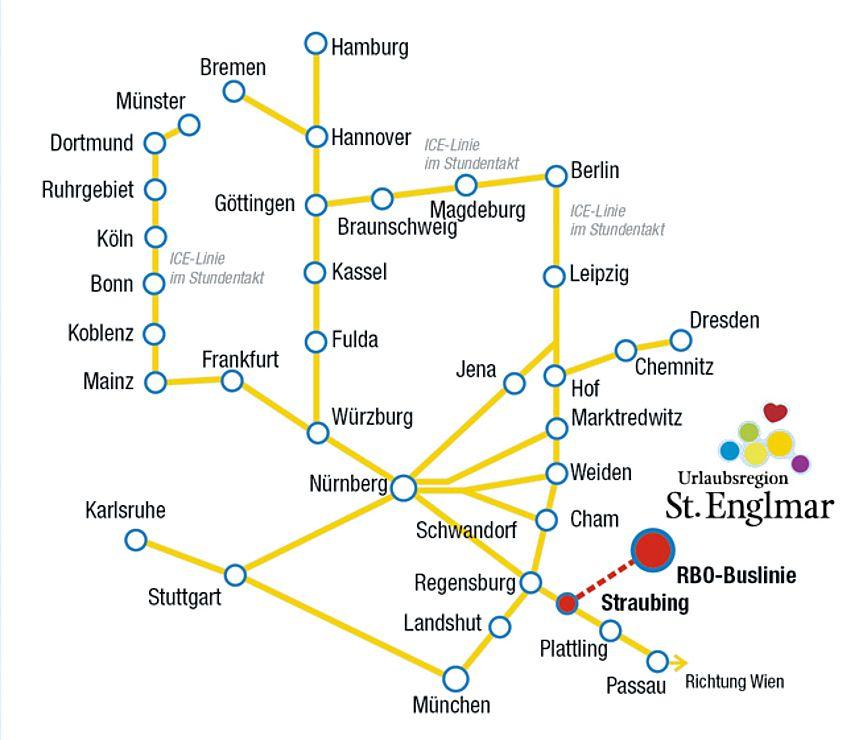 Anreise Mit Bus Bahn In Die Urlaubsregion Sankt Englmar