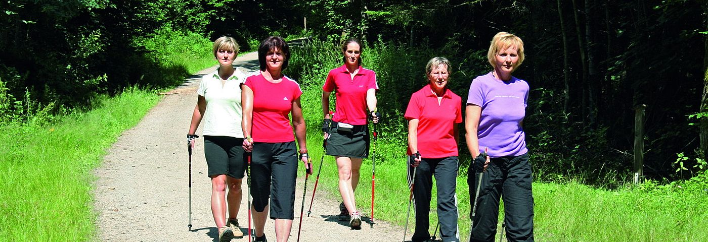 Nordic-Walking in Neukirchen